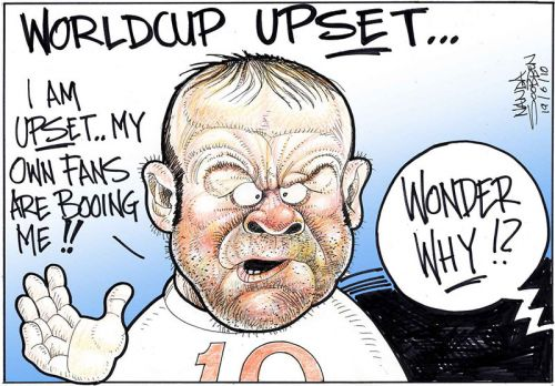 'World Cup Upset': Africartoons.com