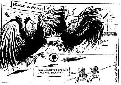 'Combat de Coq': Africartoons.com