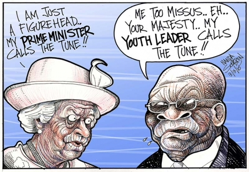 'Zuma in London': Africartoons.com