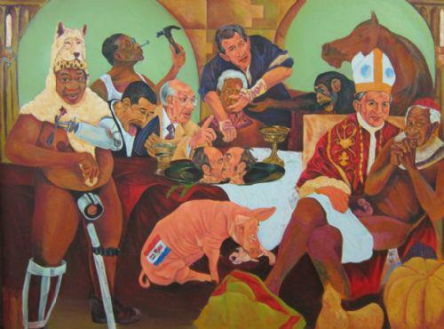 Ayunda Mabulu Painting