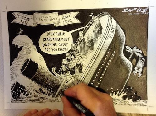 Zapiro Drawing at 300 km/hour