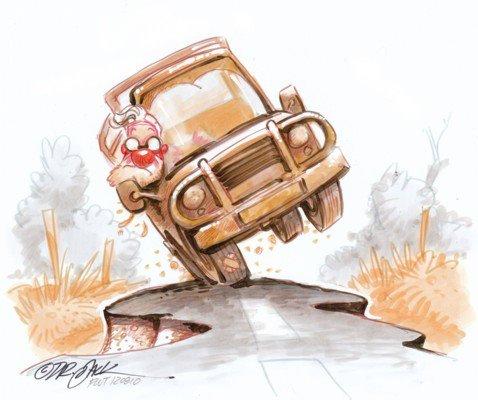 Navigating Potholes