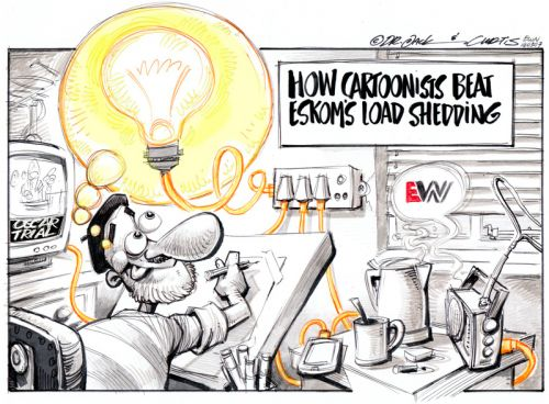 Bright ideas for cartoonists [from Dr Jack & Curtis]