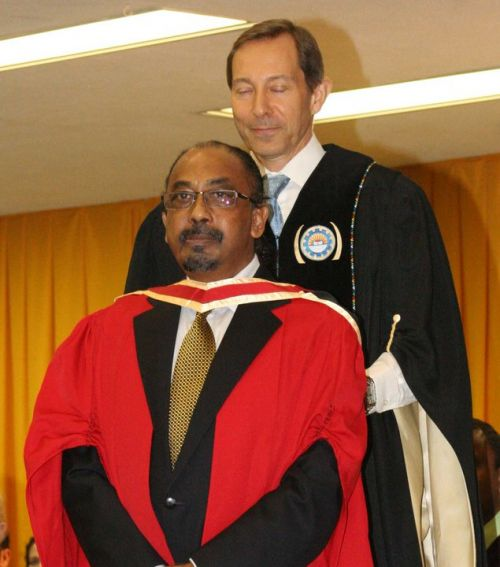 Nanda Soobben Receives his Doctorate