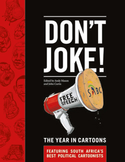 Don't Joke! The Year in Cartoons Book Cover