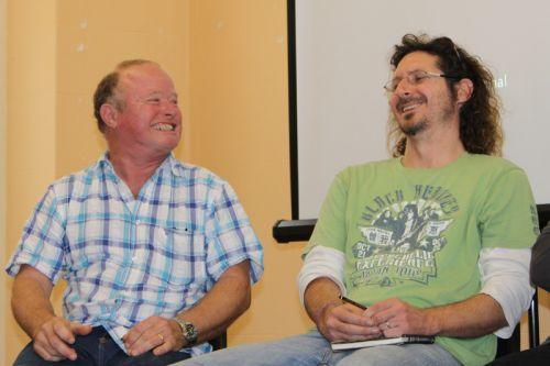 Trek Net Creators Dave Gommersall and Gavin Thomson