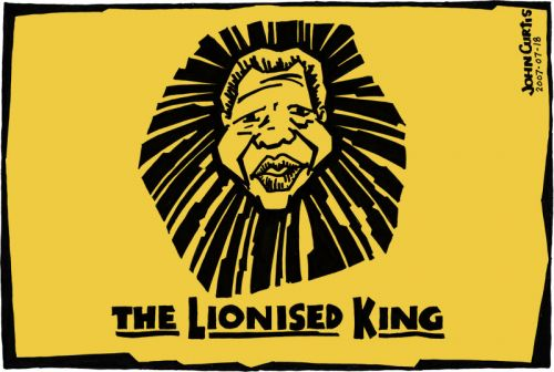 The Lionised King by Curtis