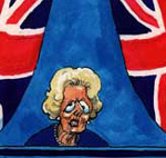 Steve Bell's Thatcher