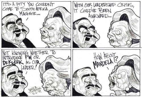 Maggie and Pik Botha [by Soobben]
