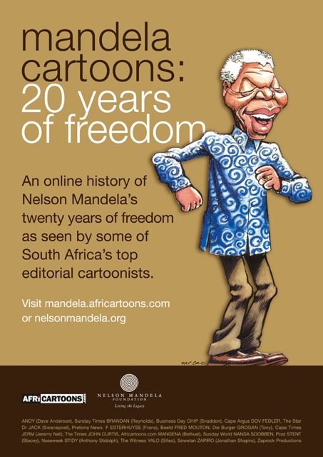 Mandela Cartoons: 20 Years of freedom