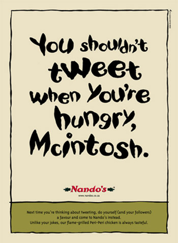 Nandos Advert