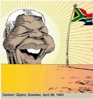 Zapiro's Mandela Rising