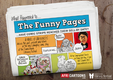 The Funny Pages flyer