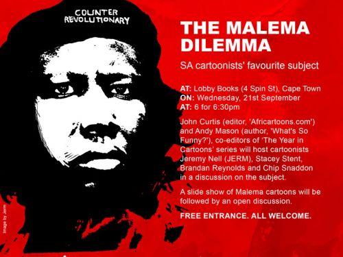 The Malema Dilemma Invitation
