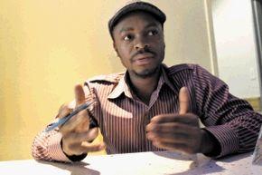 Sowetan cartoonist, Yalo