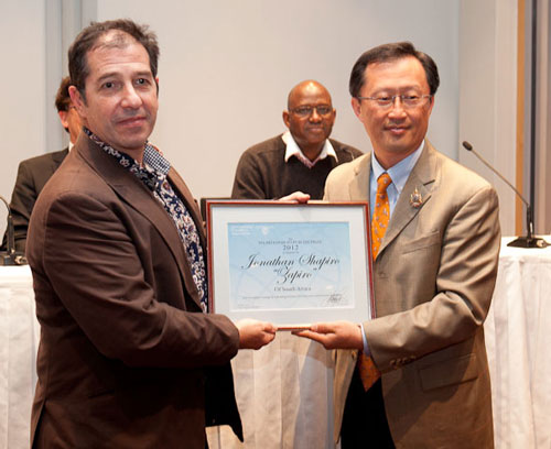 Zapiro receives IPA Award